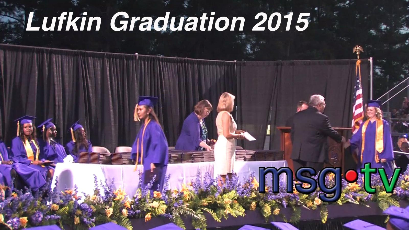 Lufkin Graduation 2015