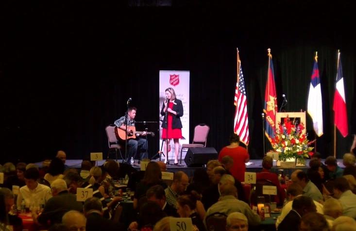 Salvation Army Lufkin 75th Anniversary Banquet